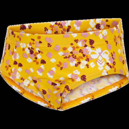 hmlBEACH SWIM PANTS, GOLDEN ROD, packshot