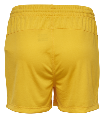 AUTHENTIC CHARGE POLY SHORTS WOMAN, SPORTS YELLOW, packshot