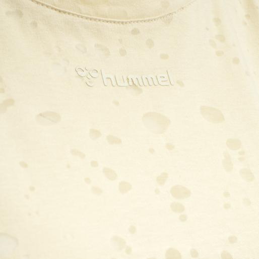 hmlSELLY T-SHIRT, BONE WHITE, packshot