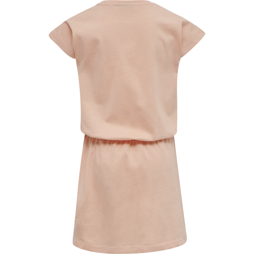 hmlTWILIGHT DRESS S/S, CORAL PINK, packshot