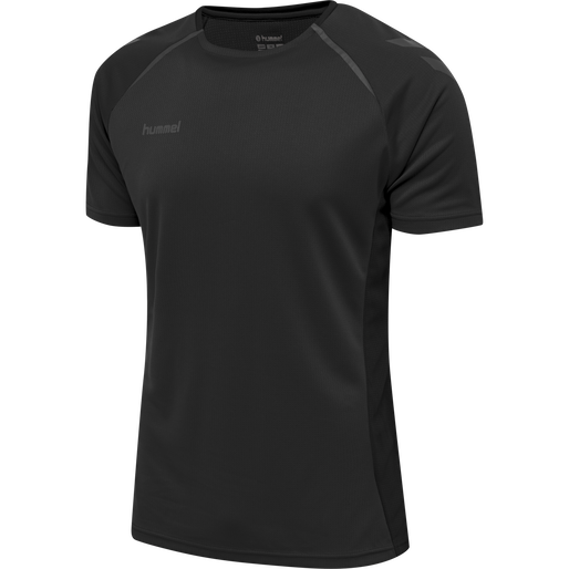hmlAUTHENTIC PRO JERSEY S/S, ANTHRACITE, packshot