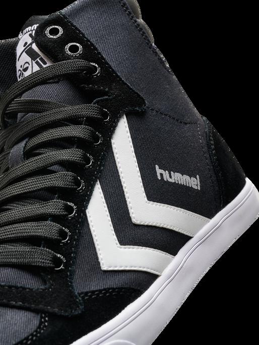 HUMMEL SLIMMER STADIL HIGH, BLACK/WHITE KH, packshot