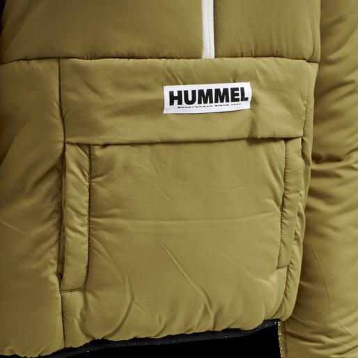 hmlGILL HALF ZIP JACKET, ANTIQUE BRONZE, packshot