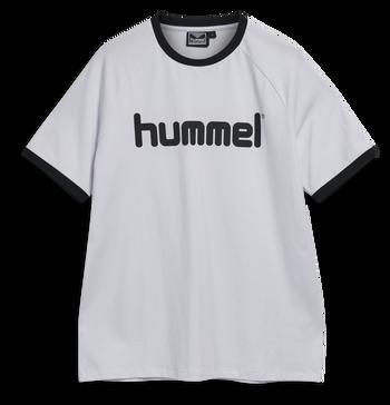 hmlBAY T-SHIRT S/S, WHITE, packshot