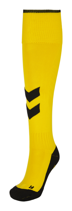 FUNDAMENTAL FOOTBALL SOCK, SPORTS YELLOW/BLACK, packshot