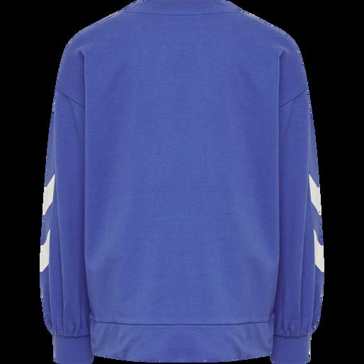 hmlANNE SWEAT, AMPARO BLUE, packshot