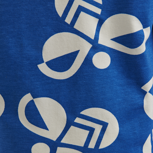 hmlCHARLIE T-SHIRT L/S, DIRECTOIRE BLUE, packshot