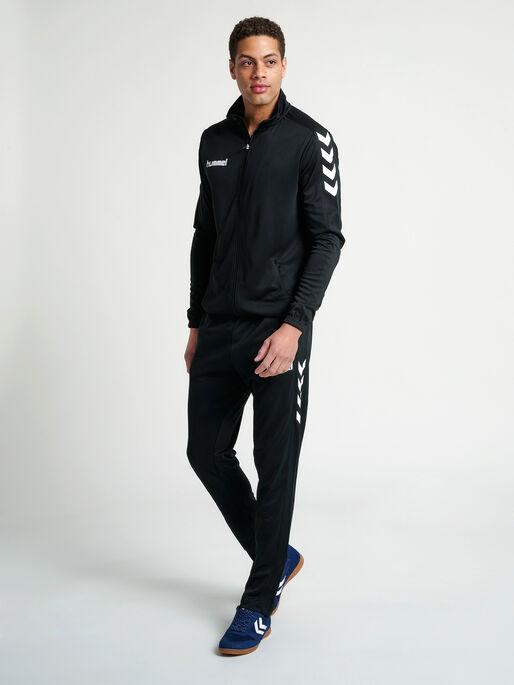 CORE TRAINING POLY PANT, BLACK, model