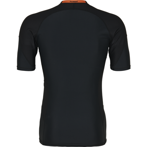 HUMMEL FIRST COMPRESSION SS, BLACK, packshot