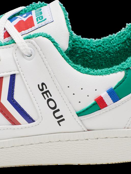 SEOUL VEGAN ARCHIVE, WHITE/GREEN, packshot