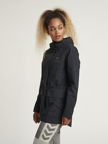 hmlTALLY JACKET, BLACK, model