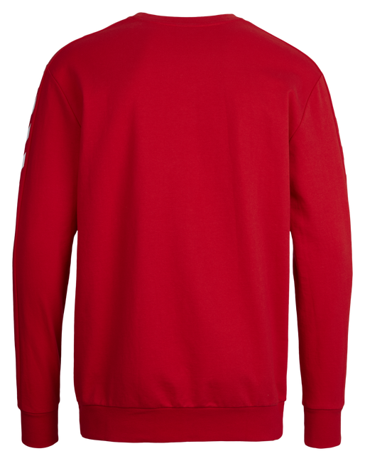 CORE COTTON SWEAT, TRUE RED, packshot
