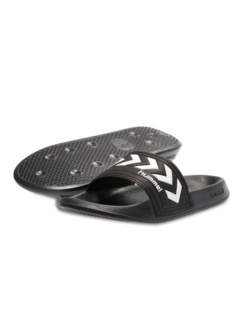 LARSEN SLIPPER, BLACK, packshot
