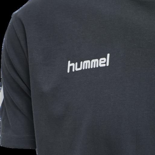 HUMMEL GO COTTON T-SHIRT S/S, INDIA INK, packshot