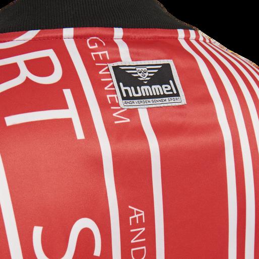 hmlDANSK OVERSIZED T-SHIRT S/S, TRUE RED, packshot