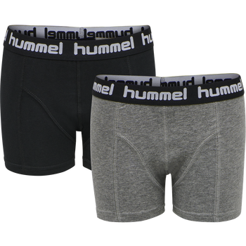 hmlBOXERS-2 PACK, BLACK, packshot