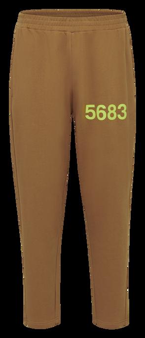 hmlWILLY HUSTLER PANTS, TOBACCO BROWN, packshot