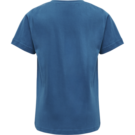 hmlLAN T-SHIRT S/S, BLUE SAPPHIRE, packshot