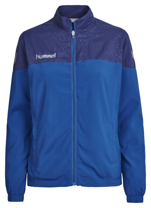 HUMMEL SIRIUS MICRO JACKET WO, TRUE BLUE/PATRIOT BLUE, packshot