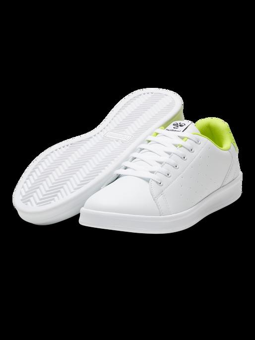 BUSAN, WHITE/SAFETY YELLOW, packshot
