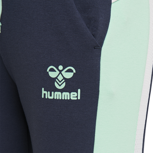 hmlNIRVANA SLIM PANTS, BLACK IRIS, packshot