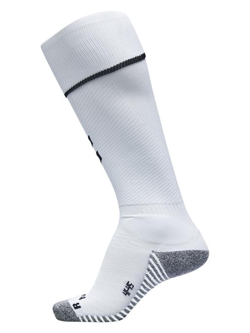 PRO FOOTBALL SOCK, WHITE/BLACK, packshot