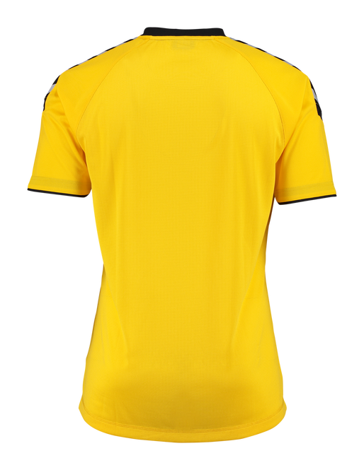 AUTH. CHARGE SS POLY JERSEY, SPORTS YELLOW, packshot
