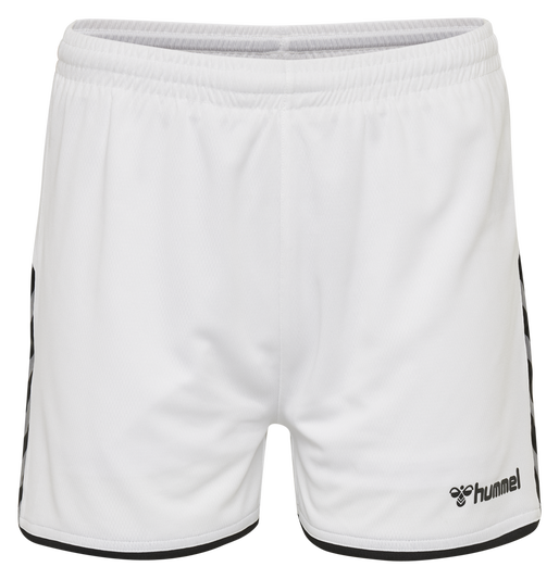 hmlAUTHENTIC POLY SHORTS WOMAN, WHITE, packshot