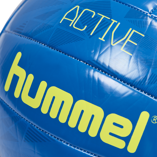 hmlACTIVE VOLLEY BALL, TRUE BLUE/SULPHUR SPRING, packshot