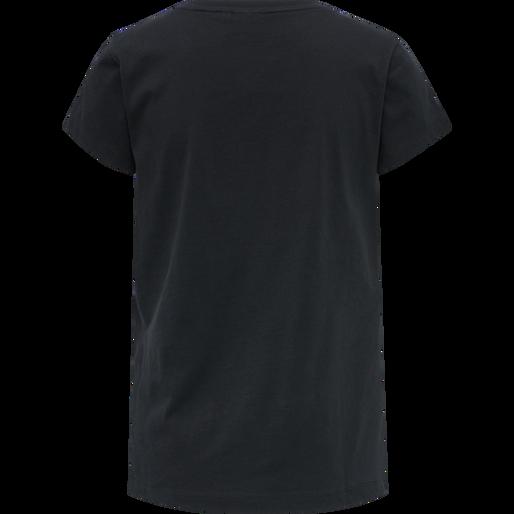 hmlSENGA T-SHIRT S/S, BLACK, packshot