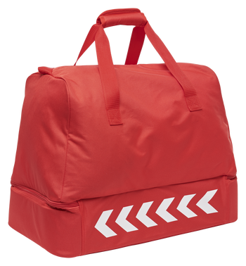 CORE FOOTBALL BAG, TRUE RED, packshot