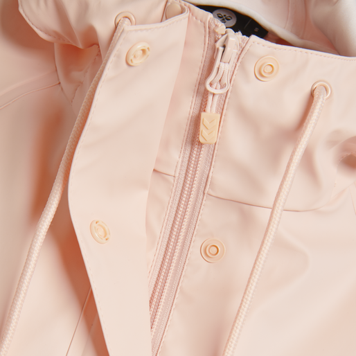 hmlJOY RAIN COAT, CLOUD PINK, packshot