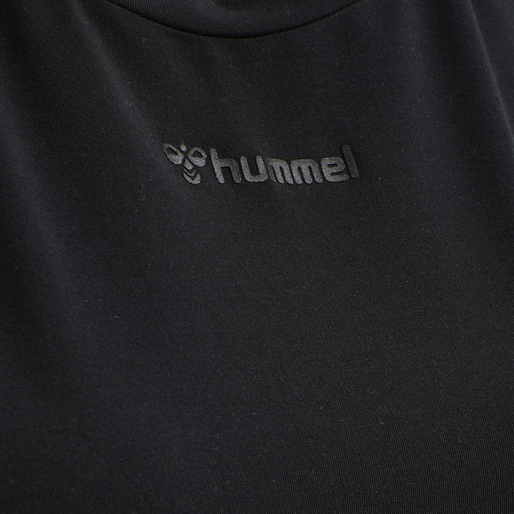 hmlREESE T-SHIRT, BLACK, packshot