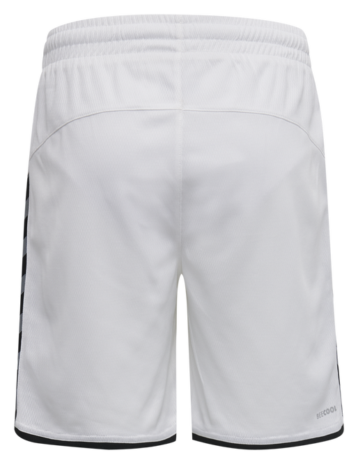 hmlAUTHENTIC KIDS POLY SHORTS, WHITE, packshot