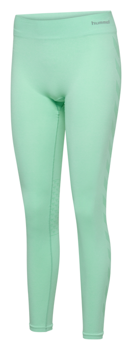 CLASSIC BEE CI SEAMLESS TIGHTS, ICE GREEN MELANGE, packshot