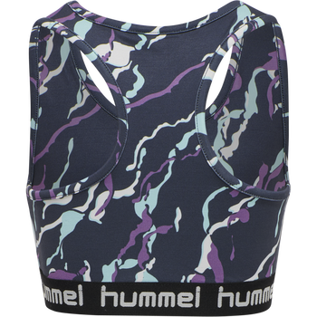 hmlMIMMI SPORTS TOP, OMBRE BLUE , packshot