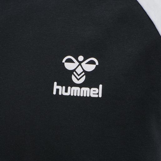 hmlMARK T-SHIRT S/S, BLACK, packshot