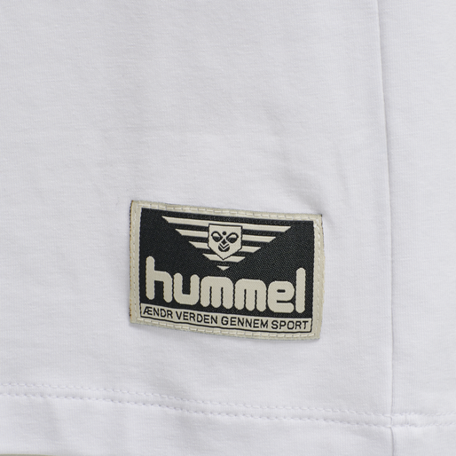 hmlWEST COAST T-SHIRT S/S, WHITE, packshot