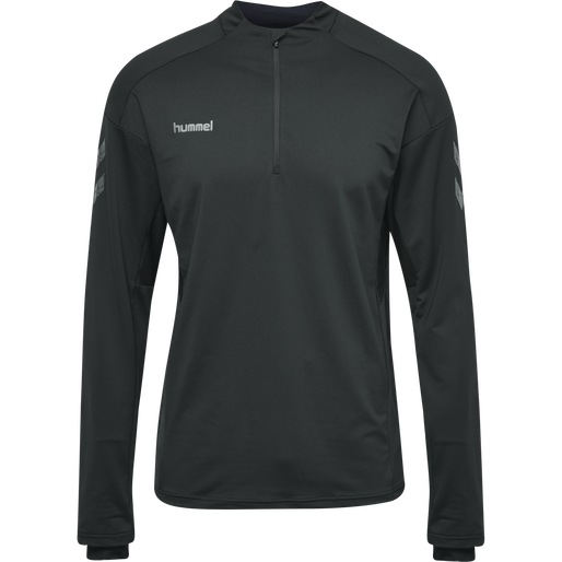 PRECISION PRO HALF ZIP SWEATSHIRT, BLACK, packshot