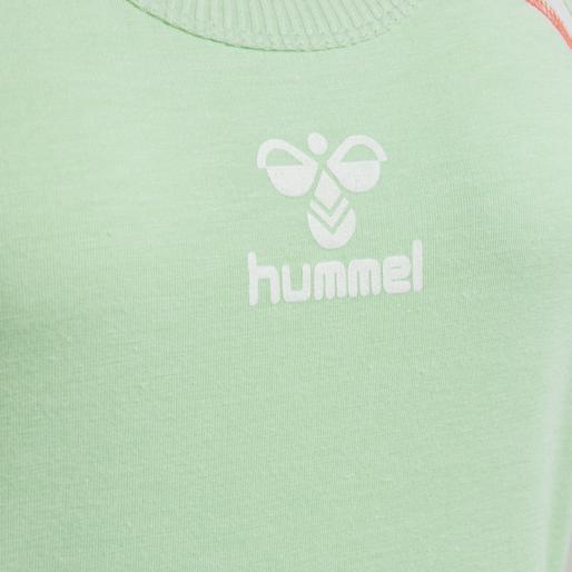 hmlHILL TOP, ICE GREEN MELANGE, packshot