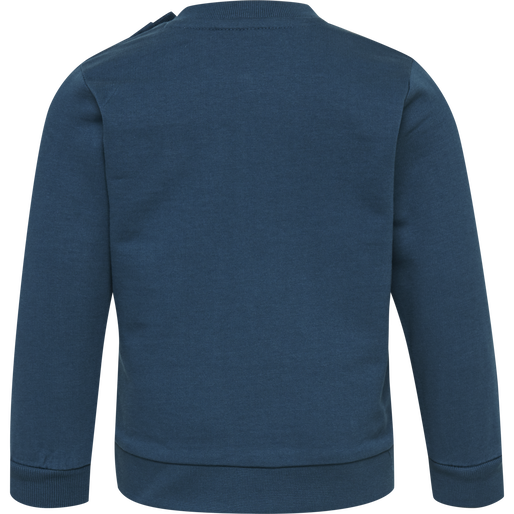 hmlLEMON SWEATSHIRT, MAJOLICA BLUE, packshot