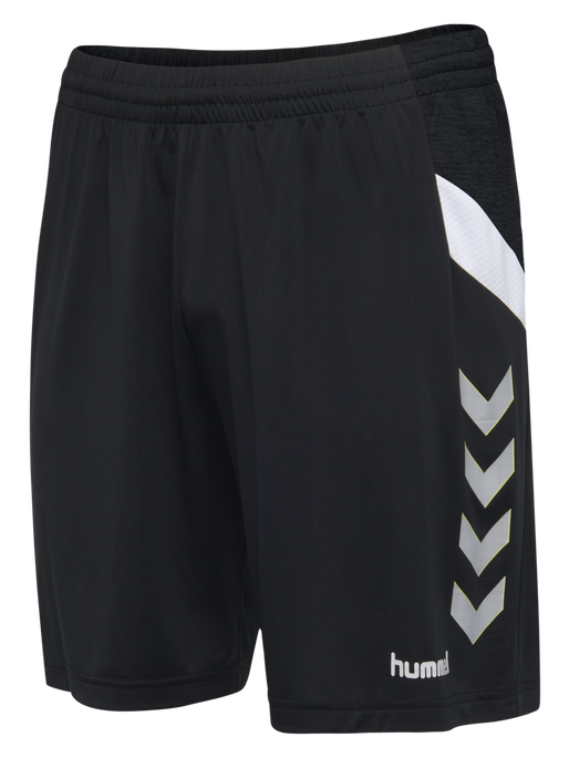 TECH MOVE KIDS POLY SHORTS, BLACK, packshot