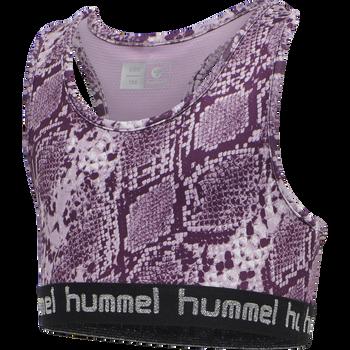 hmlMIMMI SPORTS TOP, MAUVE SHADOW, packshot