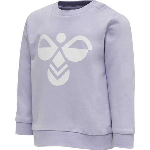 hmlLEMON SWEATSHIRT, PURPLE HEATHER, packshot
