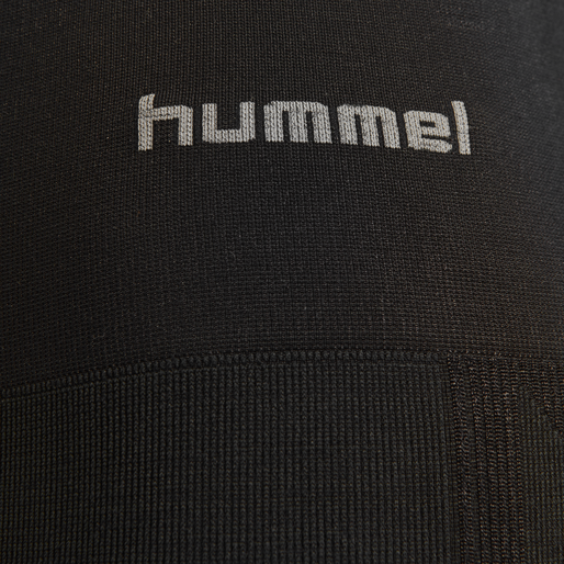 HMLCLEA SEAMLESS TIGHTS, BLACK MELANGE, packshot