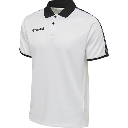 hmlAUTHENTIC FUNCTIONAL POLO, WHITE, packshot