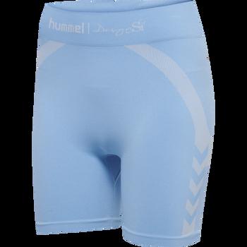 hmlSI SEAMLESS SHORTS, BEL AIR BLUE, packshot