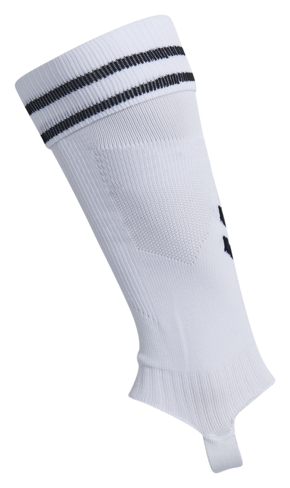 ELEMENT FOOTBALL SOCK FOOTLESS, WHITE/BLACK, packshot