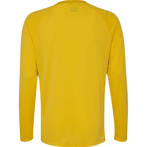TECH MOVE JERSEY L/S, SPORTS YELLOW, packshot