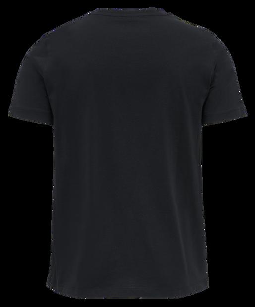 hmlPETER T-SHIRT S/S, BLACK, packshot
